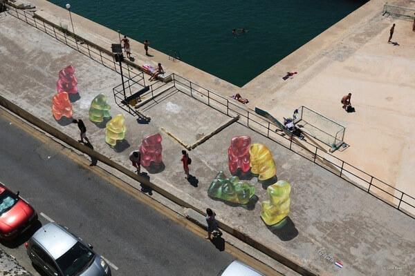 gummy bear paintings 2
