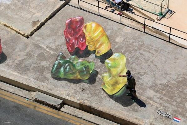 gummy bear paintings 6