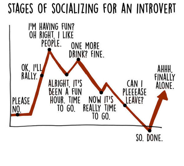 17 Graphs That Are Way Too Real For Introverts 10