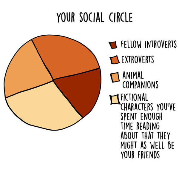 17 Graphs That Are Way Too Real For Introverts 16