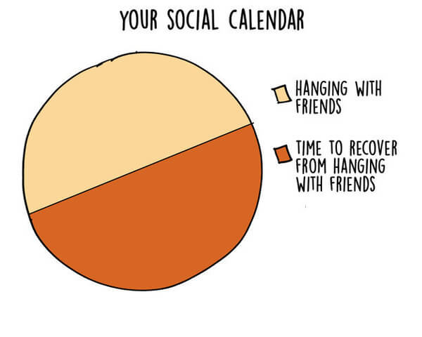17 Graphs That Are Way Too Real For Introverts 4