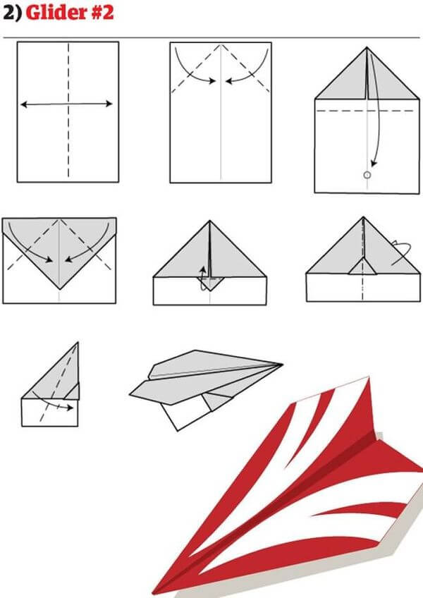 How To Make Cool Paper Airplane Designs Here's How To Make Coo...