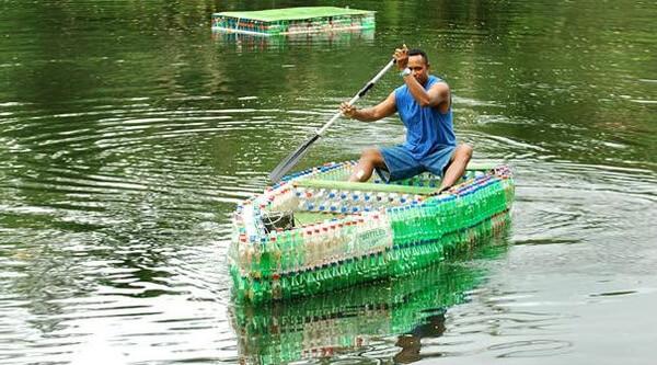 creative ways to reuse plastic bottles 34