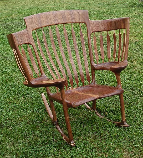 triple rocking chair 3