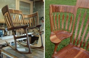 triple rocking chair 7