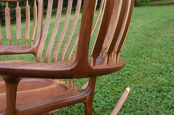 triple rocking chair 8