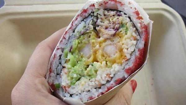 sushi burritos 1