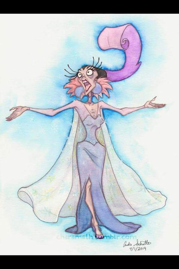 Yzma was in other Disney Movies 10