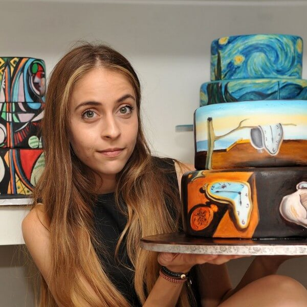 famous paintings on cakes 8