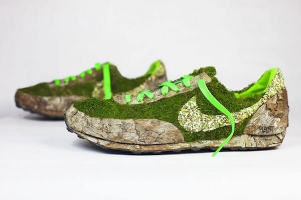 sneakers turned into blossoming gardens 27