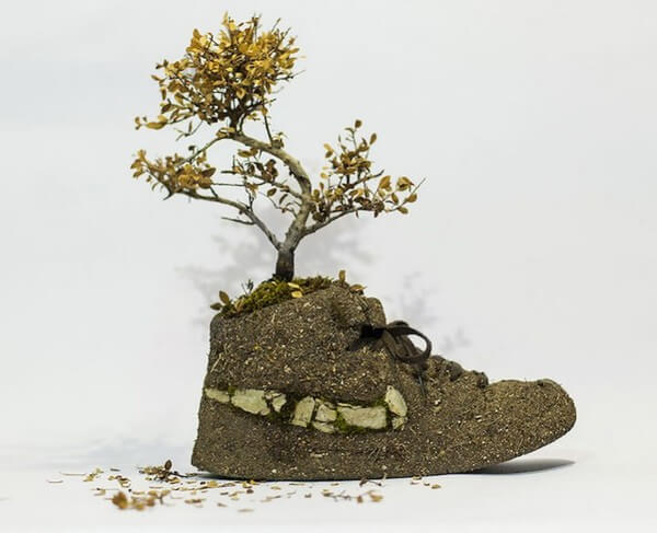 sneakers turned into blossoming gardens 21