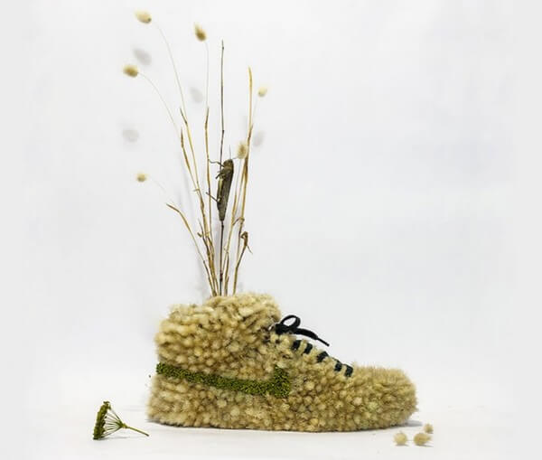 sneakers turned into blossoming gardens 22