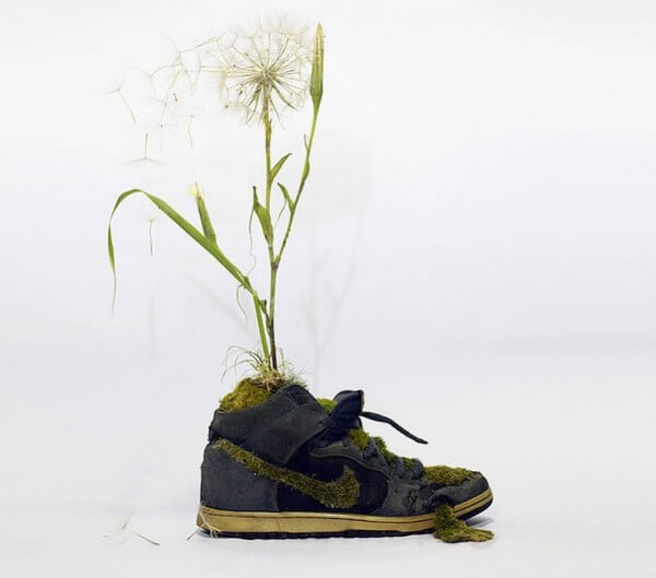 sneakers turned into blossoming gardens 26