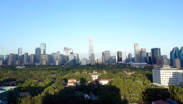 blue skies in Beijing 3