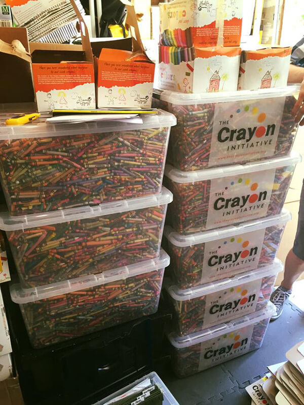 recycling crayons for kids 1