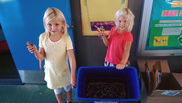 recycling crayons for kids 10