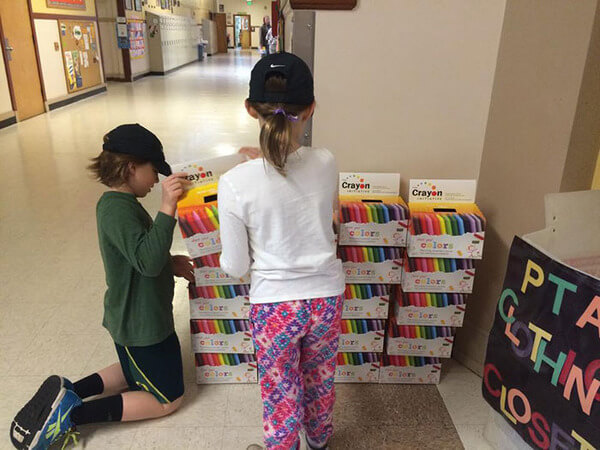 recycling crayons for kids 9
