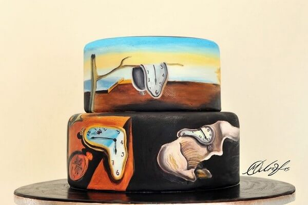 famous paintings on cakes 2