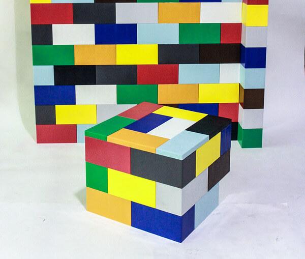 Oversized Modular Lego Bricks 6