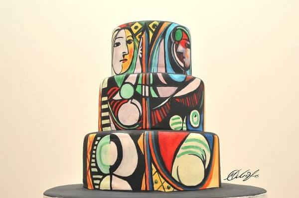 famous paintings on cakes 3