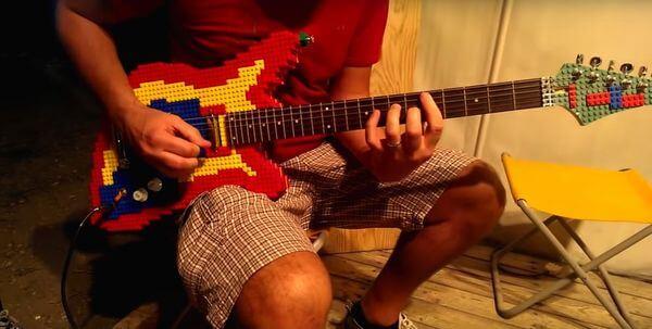 lego guitar 6