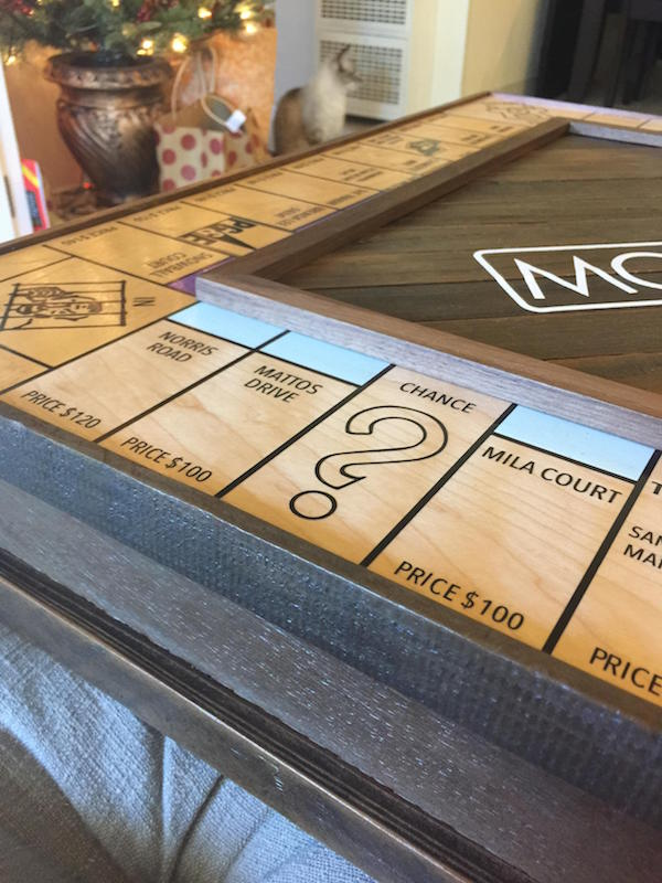 Custom Monopoly Board To Propose 12