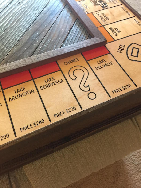 Custom Monopoly Board To Propose 13