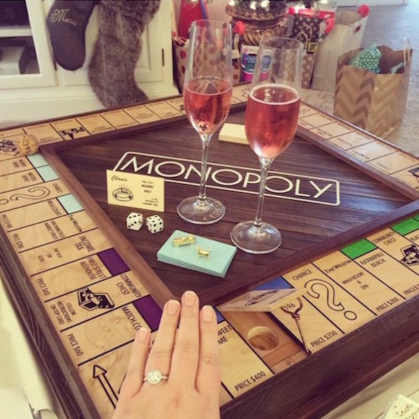 Custom Monopoly Board To Propose 20