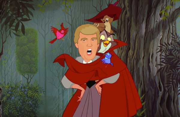 donald trump as disney princess 9