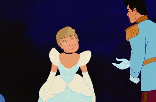 donald trump as disney princess 6