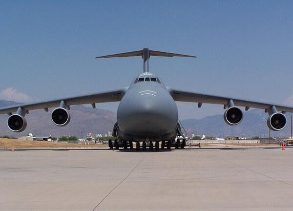 C-5 Galaxy plane 1