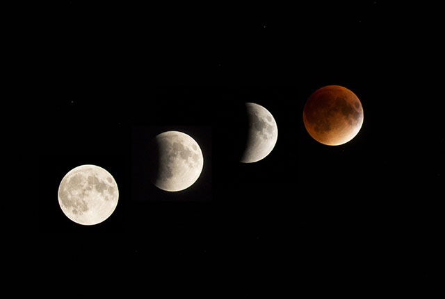 Supermoon Lunar Eclipse 1
