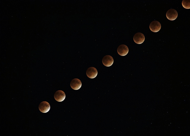 Supermoon Lunar Eclipse 12