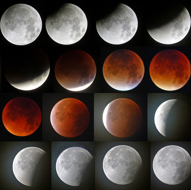 Supermoon Lunar Eclipse 13