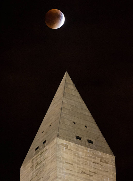 Supermoon Lunar Eclipse 8