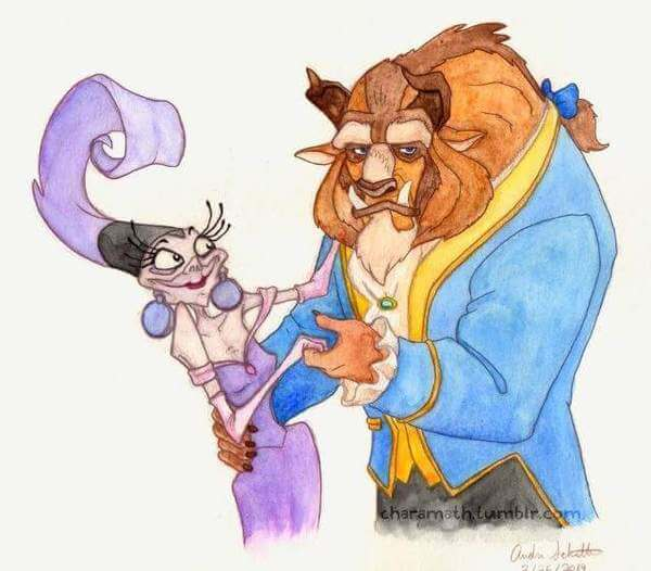 Yzma was in other Disney Movies 7
