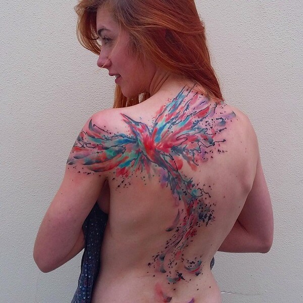 awesome water color tattoos 2