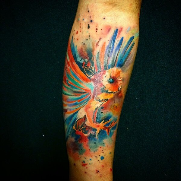 awesome water color tattoos 12