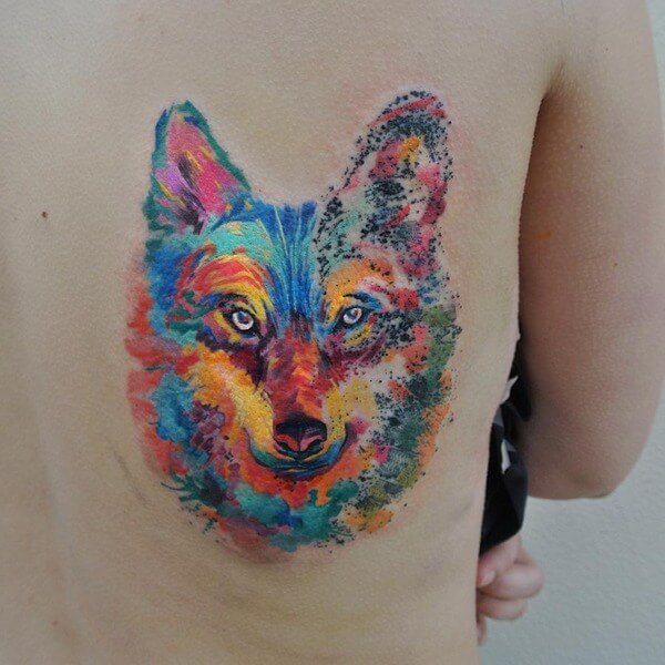 awesome water color tattoos 3
