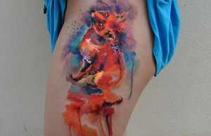 awesome water color tattoos 1