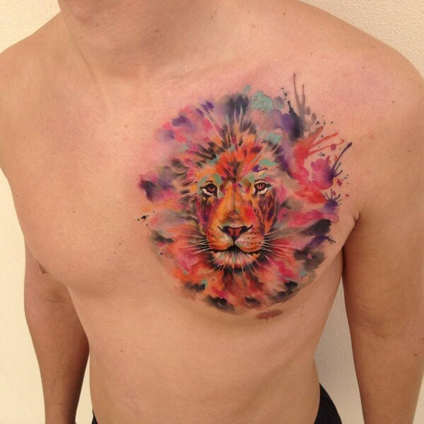 awesome water color tattoos 7