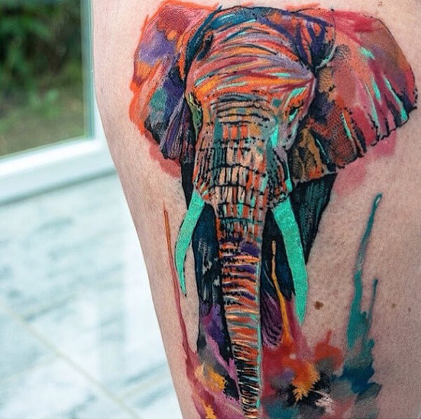 awesome water color tattoos 9