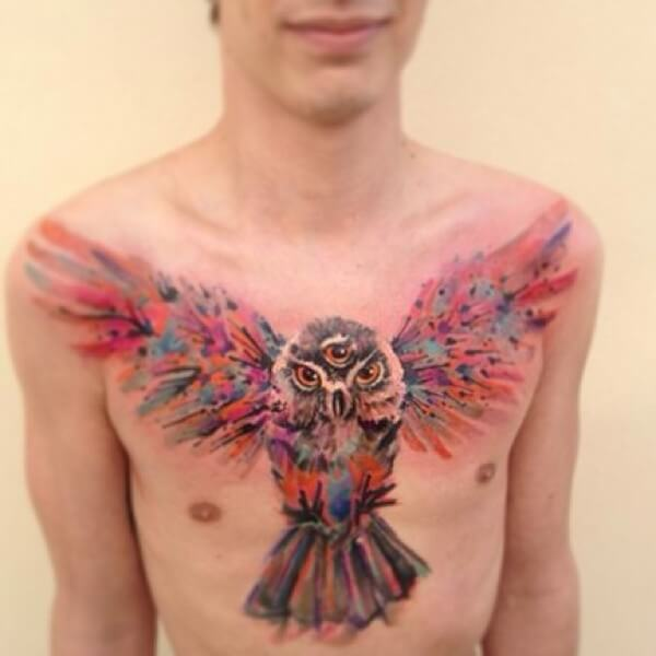 awesome water color tattoos 10