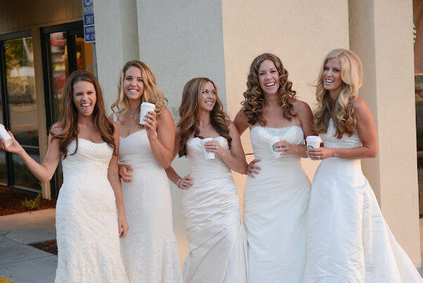 five sisters thanks parents for paying for weddings 14