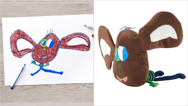 ikea turns drawings to toys 5