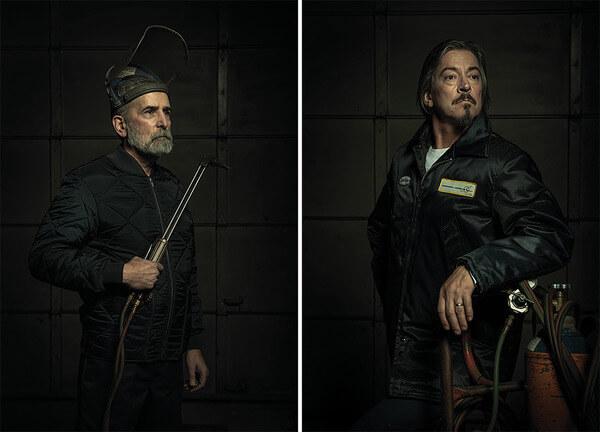 mechanic people recreate famous paintings 2