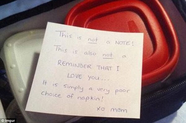parents hilarious notes in lunchbox 8
