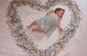 powerful photo of newborn baby 1