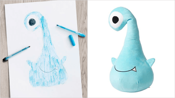 ikea turns drawings to toys 7