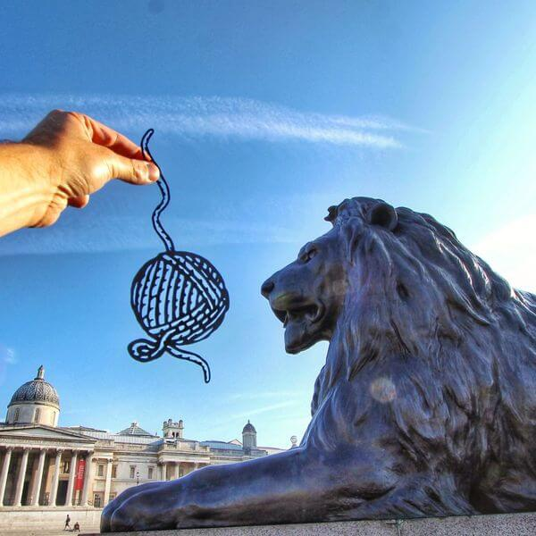 transforms landmarks to paper cuts 5